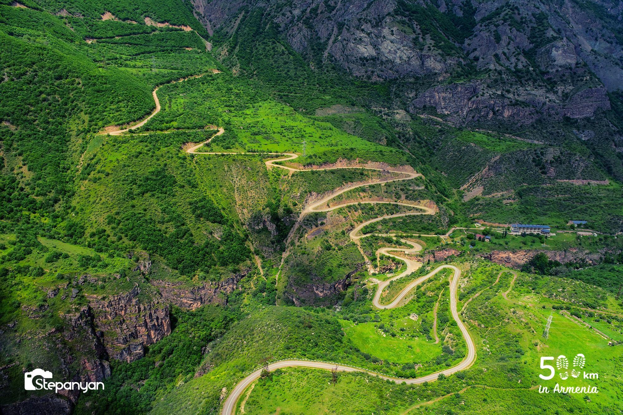 Տաթև - 500 կմ Հայաստանում