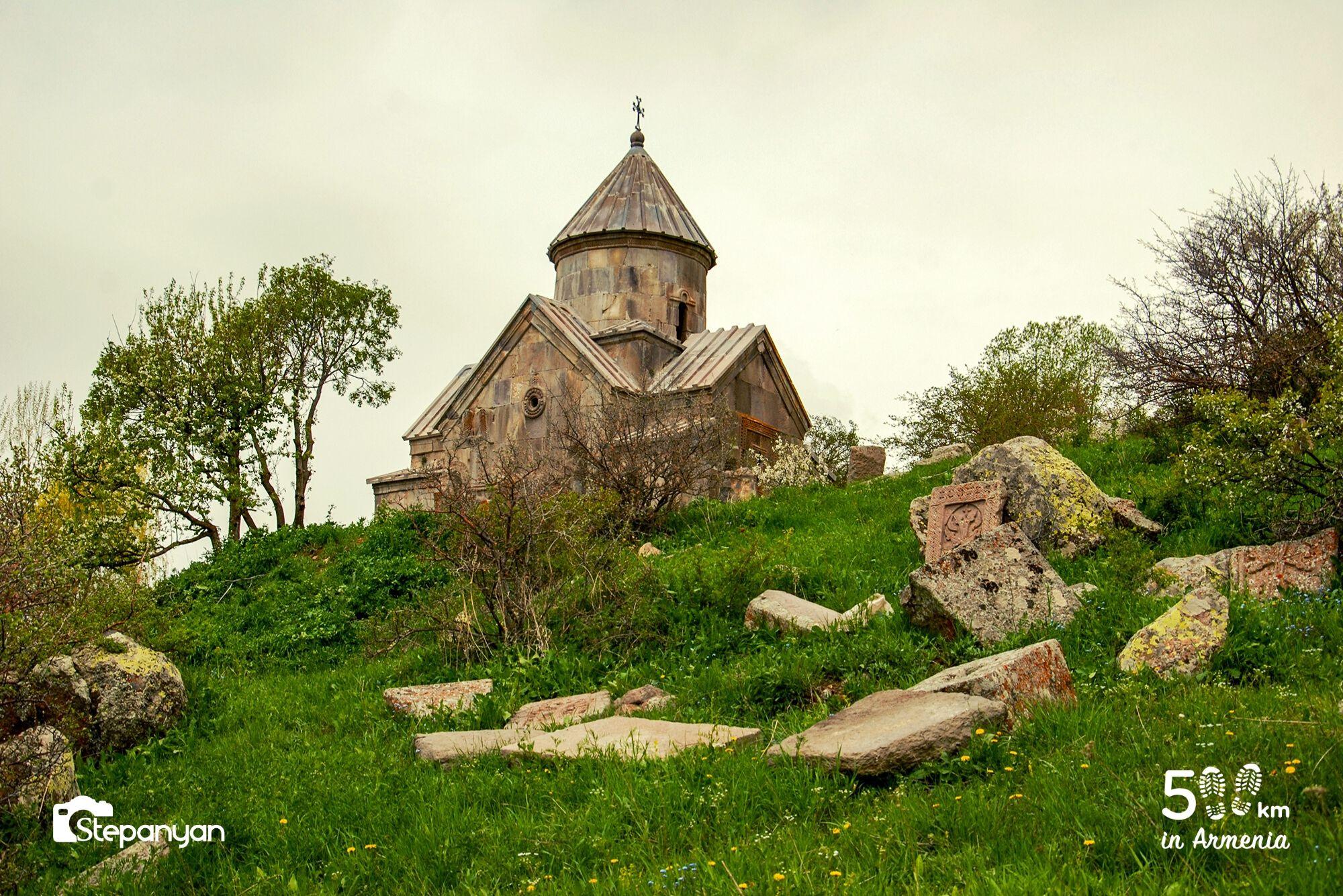 Ցաղաց քար - 500 կմ Հայաստանում