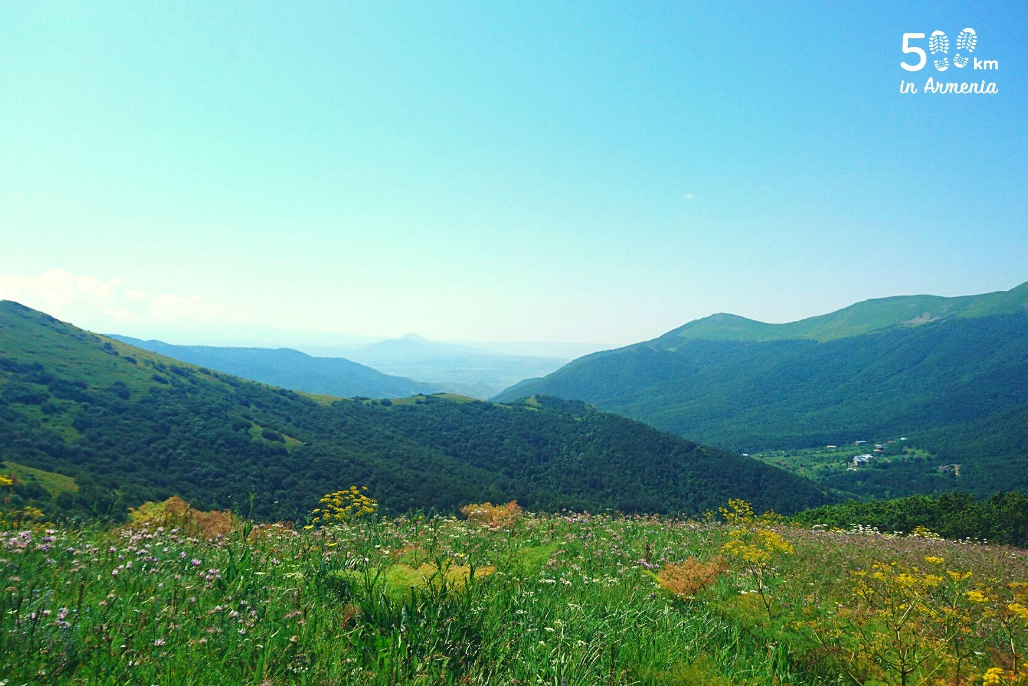Ծաղկունյաց լեռներ - 500 կմ Հայաստանում