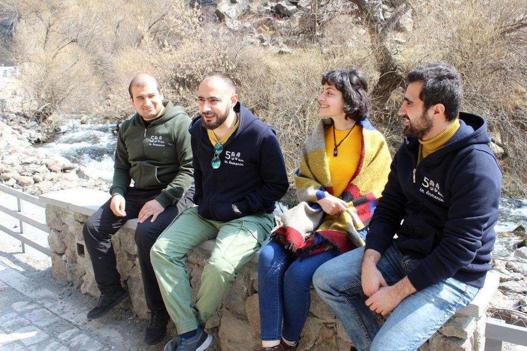 500 km in Armenia - Team Members